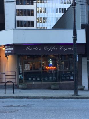 Mario's Coffee Express Ltd - Coffee Shops - 604-608-2804