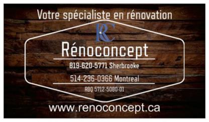 RénoConcept - Home Improvements & Renovations - 819-680-5771