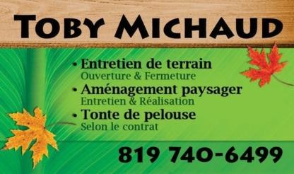 Toby Michaud Entretien de Paysagement - Paysagistes et aménagement extérieur - 819-740-6499