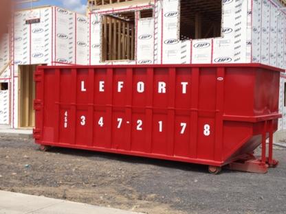 Lefort Recyclage - Bacs et conteneurs de déchets