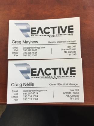 Reactive Electrical & Controls Ltd - Electricians & Electrical Contractors