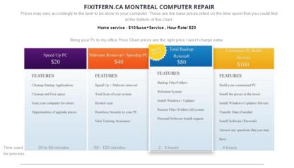 Fixitfern.ca - Computer Repair & Cleaning - 514-206-8844