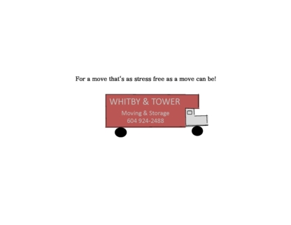 Whitby & Tower Moving - Déménagement et entreposage - 604-988-4570