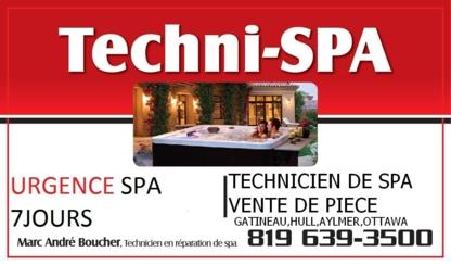Techni-Spa - Hot Tubs & Spas - 819-639-3500