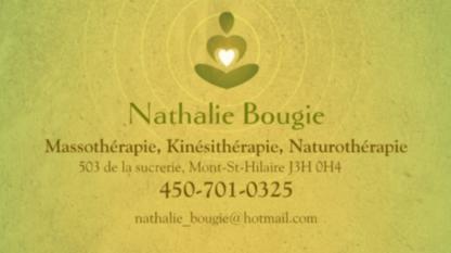 Nathalie Bougie Massothérapie - Massothérapeutes