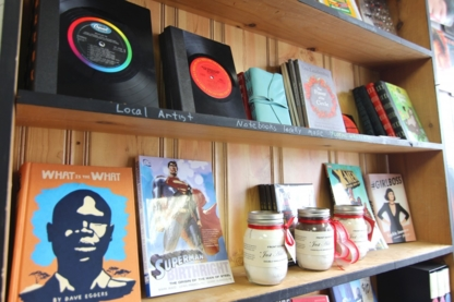 PRESS books.coffee.vinyl - Book Stores - 647-352-5200