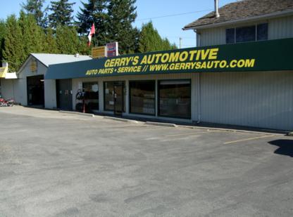 Gerry's Automotive Ltd - Recreational Vehicle Dealers