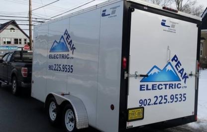 Peak Electric Ltd. - Électriciens - 902-225-9535