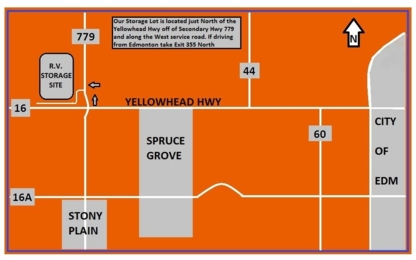 Yellowhead & HWY 779 R.V. Storage - Self-Storage