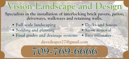 Vision Landscaping & Design - Landscape Contractors & Designers