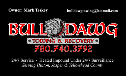 Bulldawg Towing & Recovery - Vehicle Towing