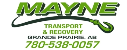 Mayne Towing & Transportation Services Ltd - Vehicle Towing - 780-538-0057