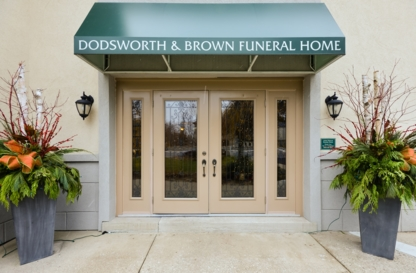 Dodsworth & Brown Funeral Home - Ancaster Chapel - Funeral Supplies - 905-648-3852