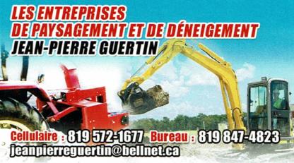 Les Entreprises de Paysagement et de Déneigement Jean-Pierre Guertin - Snow Removal - 819-847-4823