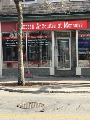 Odessa Antiquités et Monnaies - Réparation et restauration d'antiquités
