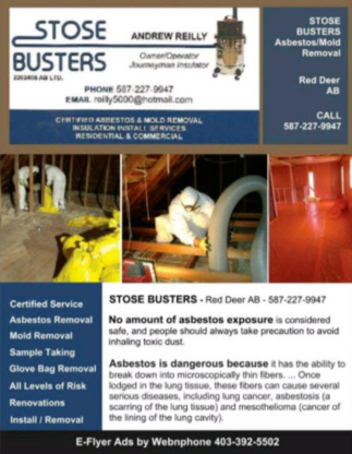 Stose Busters Ltd. - Asbestos Removal & Abatement