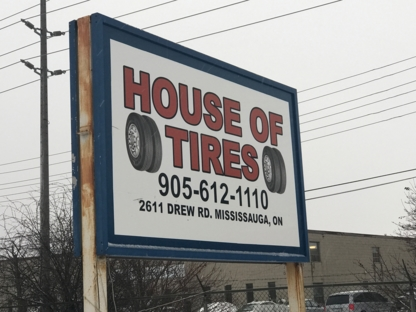 House Of Tire Corp - Tire Retailers - 905-612-1110