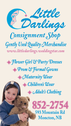 Little Darlings - Second-Hand Stores - 506-852-2754