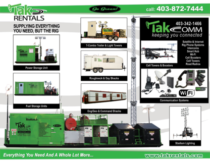 Tak Rentals - Oil Field Equipment Rental