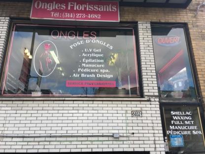 Ongles Florissants - Manucures et pédicures