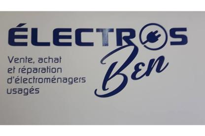 Les ElectrosBen - Réparation d'appareils électroménagers