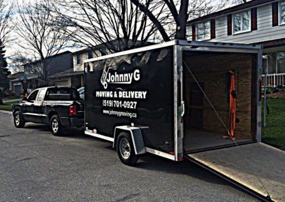 Johnny G Moving - Moving Services & Storage Facilities - 519-701-0927