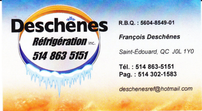 Deschênes Réfrigération Inc - Air Conditioning Contractors