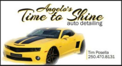 Angelo's Time To Shine - Car Detailing - 250-470-8131