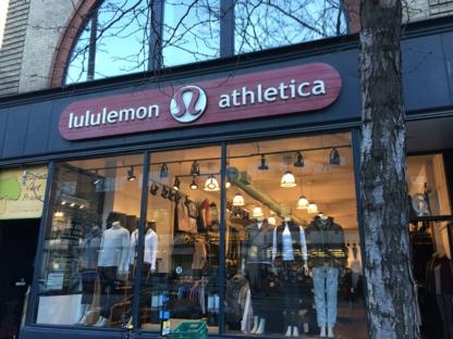 Lululemon Athletica - Magasins de vêtements de sport - 514-849-3719