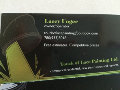 Touch of Lace Painting - Painters
