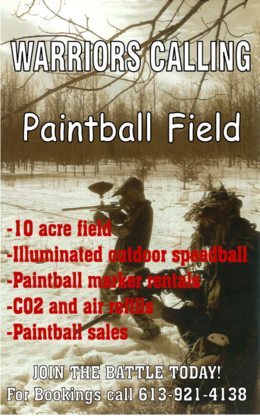 View Warriors Calling Paintball and Airsoft Field's Belleville profile
