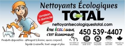 Nettoyants Ecologiques Total - Soaps & Detergents - 450-539-4407