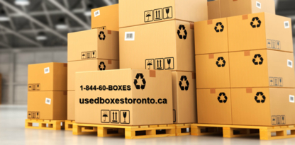 Used Boxes Toronto - Moving Equipment & Supplies