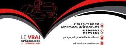 Garage Eric Morin Carrossier - Réparation de carrosserie et peinture automobile