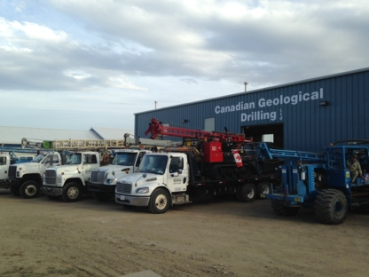 Canadian Geological Drilling Ltd - Sand & Gravel - 780-455-8033