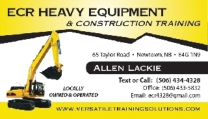 ECR Heavy Equipment & Construction Training - Écoles techniques et des métiers - 506-434-4328