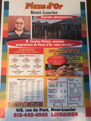 La Pizza d'Or ML - Restaurants