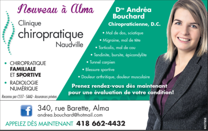 Clinique chiropratique Naudville - Chiropractors DC - 418-662-4432
