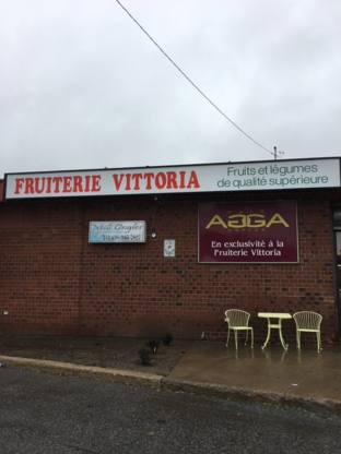 Les Fruitières Vittoria Inc  - Magasins de fruits et légumes