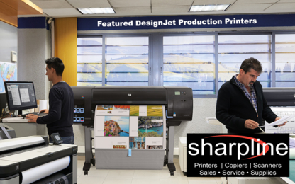 Sharpline Canada Inc - Printing Equipment & Supplies - 403-243-3418