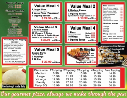 Kami's Fresh Topping Pizza - Pizza et pizzérias - 905-240-7888