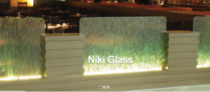 Niki Design & Glass Studio Inc - Shower Enclosures & Doors