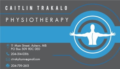 Caitlin Trakalo Physiotherapy - Physiotherapists