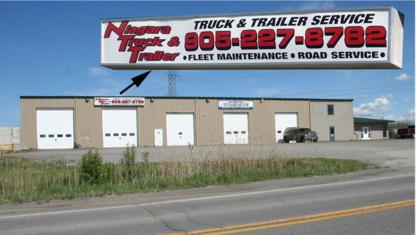 Niagara Truck & Trailer Inc - Truck Repair & Service - 905-227-8782