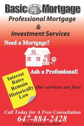 Basic Mortgage - Mortgages