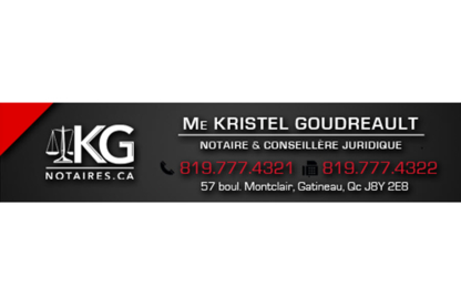 Kristel Goudreault, Notaire - Notaries