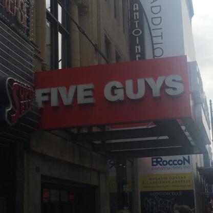 Five Guys - Restaurants - 514-393-4343