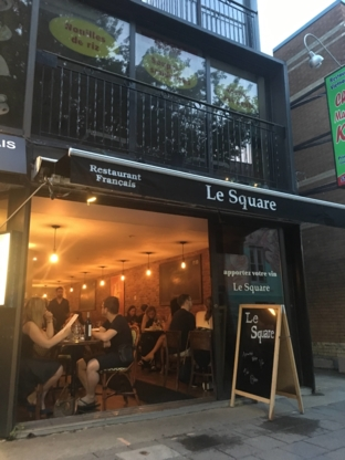 Le Square - Restaurants français - 514-439-7755