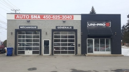 Auto S.N.A. 2012 inc - Tire Retailers - 450-625-3040