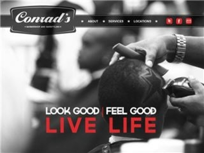 Conrad's Barber Shop - Black Hair Salons - 905-475-7787